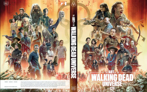 Art Of The Walking Dead Cover