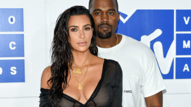Photo of Kim Kardashian Shares On Taking Care Of Kanye West When He Had COVID 19