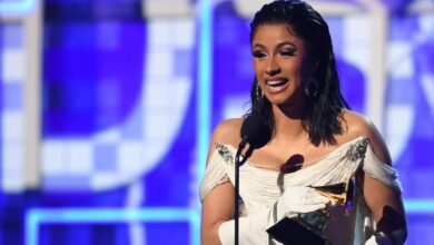 """Photo of Cardi B Lauds """"Small"""" Artists With Grammy Nominations Amid Calls For Boycott"""