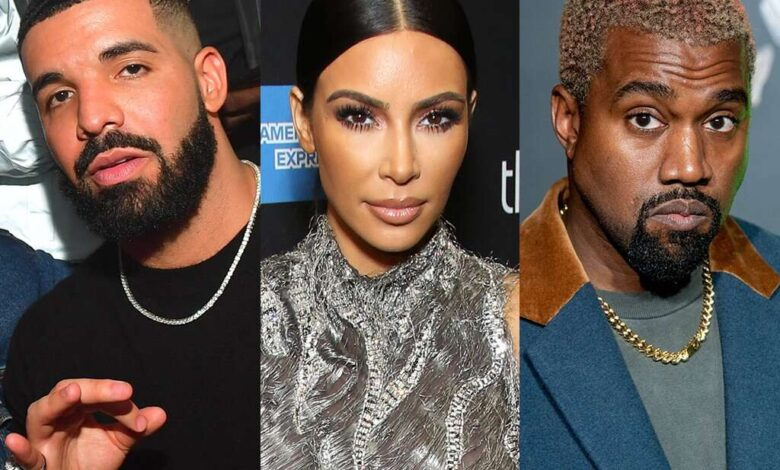 Drake Re-ignites Feud With Kanye West As Fans Speculate He's Claiming He 'Slept With Kim Kardashian'