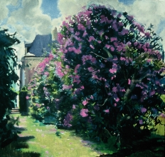 <h5>Rhododendron at the Chateau</h5><p>O:L 20 x 20 1982																																																																																																																																																																																																												</p>