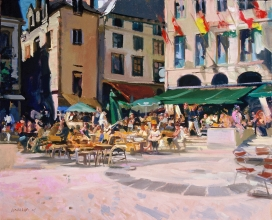 <h5>Square in Quimper</h5><p>O:L 20 x 22 1999																																																																																																																																																																																																																																																																																																																																			</p>