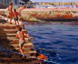 <h5>In the Harbor DZ 2</h5><p>O:L 12 x 14 1999																																																																																																																																																																																																																																																																																																																																			</p>