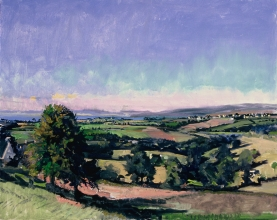 <h5>Looking Toward the Bay</h5><p>O:L 21 x 26 1999																																																																																																																																																																																																																																																																																																																																			</p>