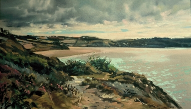 <h5>Head of Bay of Doaurnenez</h5><p>O:L 21 x 32 1980																																																																																																																																																																																																																																																																																																																																			</p>
