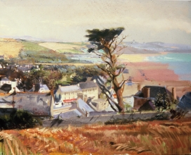 <h5>View of St Nic</h5><p>O:L 21 x 25 1982																																																																																																																																																																																																																																																																																																																																		</p>