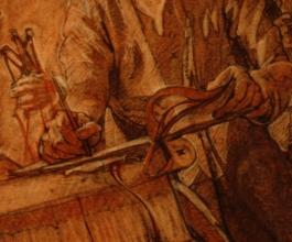 <h5>Jefferson Mural Hand Study</h5><p></p>