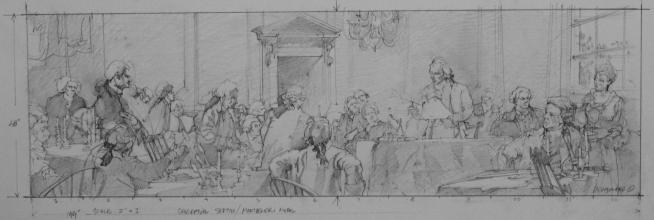 <h5>James Madison Mural</h5><p>Conceptual Sketch</p>