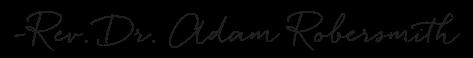 Reverend signature