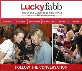 Follow the Exclusive Lucky FABB Conference Online in Real Time, Powered by Livefyre