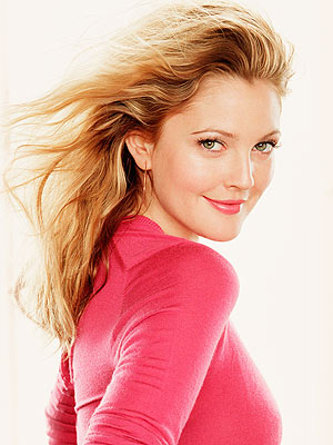 Drew Barrymore Goes Platinum Blonde