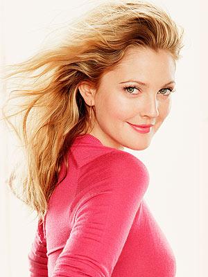 Drew Barrymore Goes Platinum Blonde