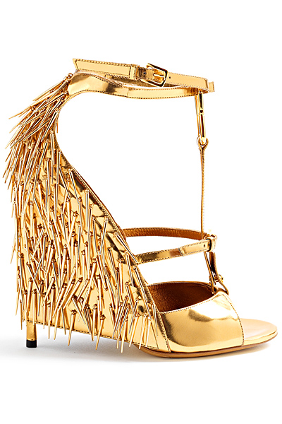 Metallic, Printed, High Heel Shoe Dazzle Summer Trends