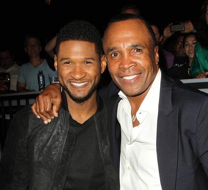 Usher, Sugar Ray Leonard, Star Style Charity News