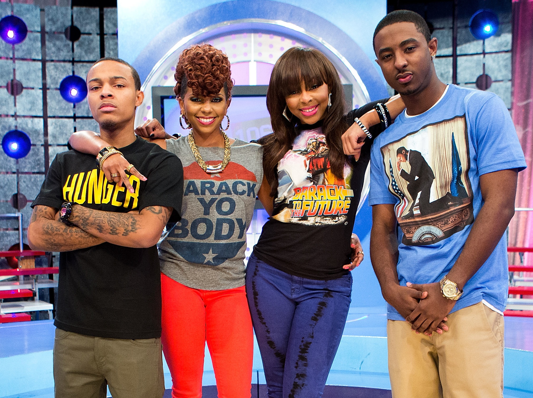 The 106 & Park Host Star Style Life of Paigion, Miss Mykie And Shorty Da Prince