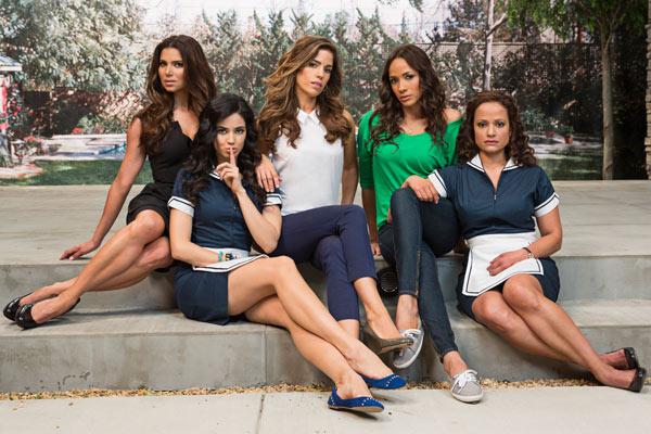 Eva Longoria, Executive Producer, Hair Secrets from Lifetime's Devious Maids