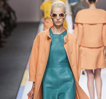 Fendi Color Block Fashion Just Right For Summer