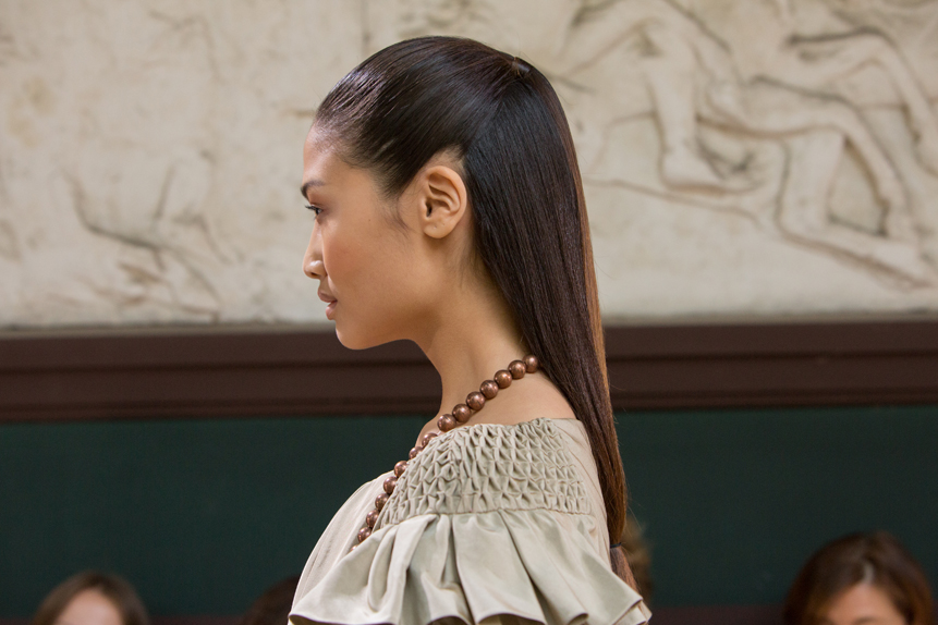 Fall 2013 Fab Five Hair Trends From Moroccanoil, Design By Delphine Courteille