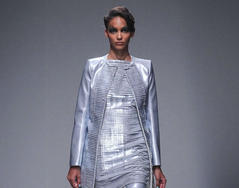 Paris, Spring Summer 2014 Designs of Gareth Pugh