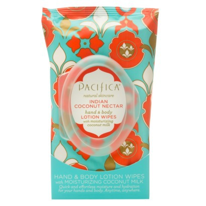 Natural Skincare Pacifica Hand & Body Wipes Are Awesome