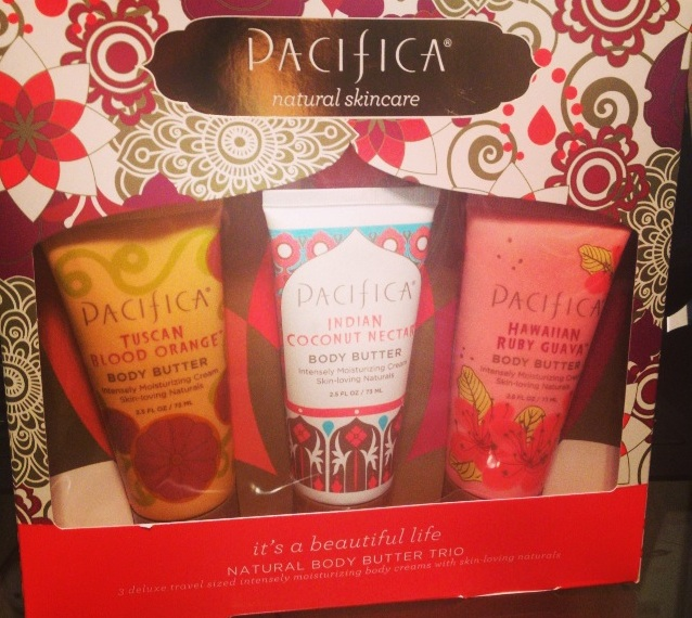 """Pacifica: """"it's a beautiful life"""" Natural Body Butter Trio Great Holiday Gift"""