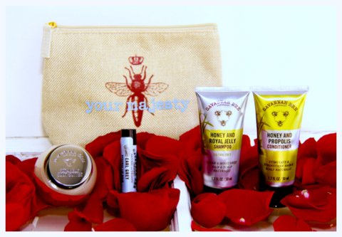 "Gift of The Day: Savannah Bee ""Her Majesty"" Travel Kit"