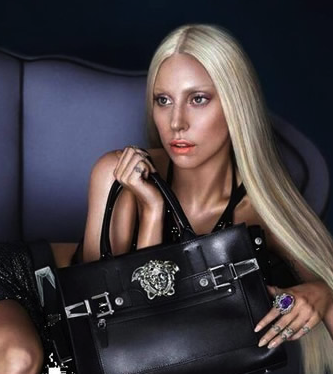 Lady Gaga for Versace Spring/Summer 2014