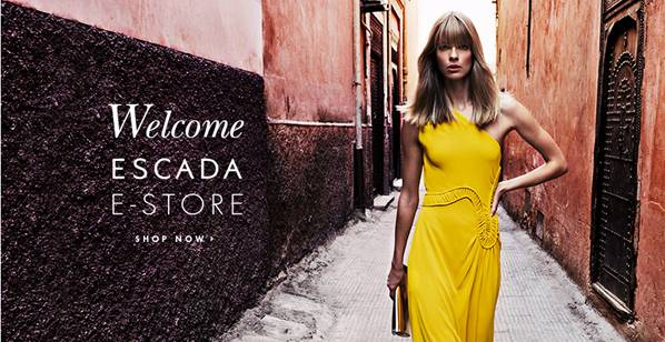 ESCADA LAUNCHES E-COMMERCE IN USA