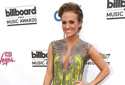 Carrie Underwood rocks L'Dezen Jewellery on the Red Carpet at the 2014 Billboard Music Awards