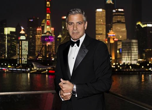 George Clooney Joins OMEGA for an Exclusive Event at a Secret