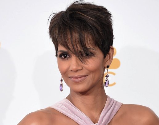 Halle Berry Wears Doves amethyst At Emmy Awards