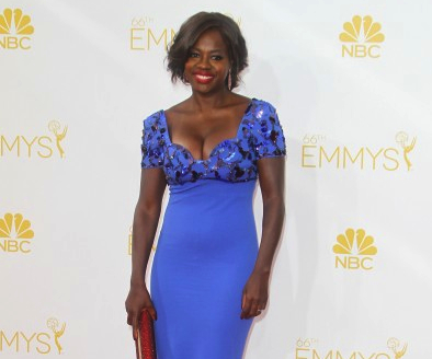 Celebrity Jewels, Viola Davis, Her Fab Earrings At the Emmy's