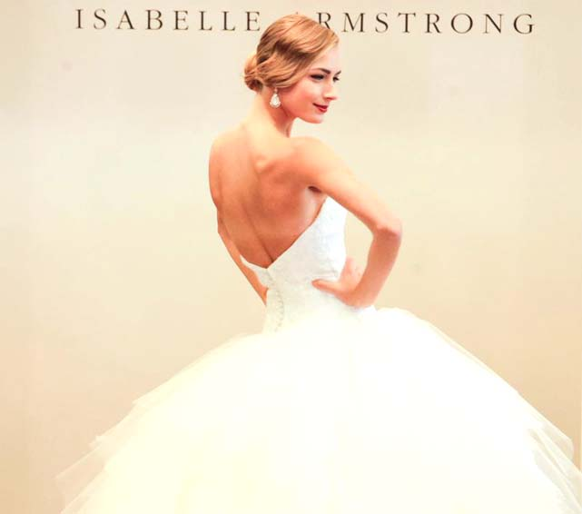 Wedding Style News: Isabelle Armstrong Fall 2015 luxury couture bridal show