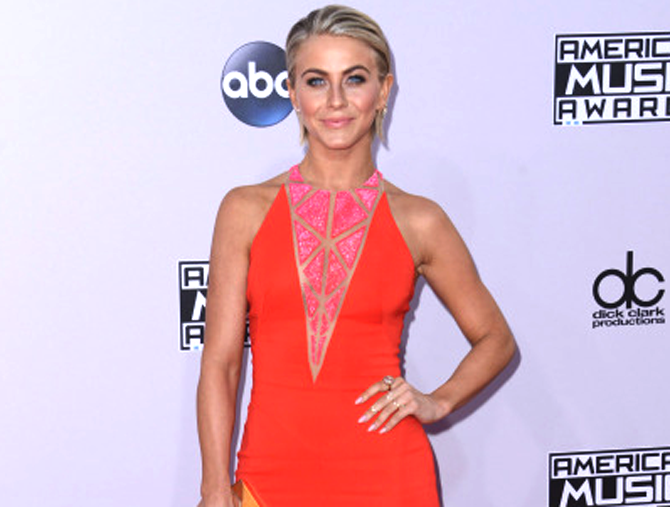 Julianne Hough's Red Carpet Style At The AMA's