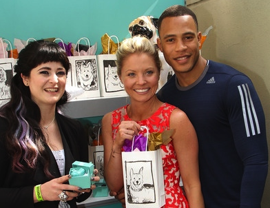 OSCAR Gift Lounge Excitement With GBK & Hollywood Stars