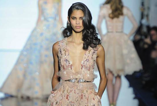 Zuhair Murad Couture Spring 2015 Collection Dress Sensation