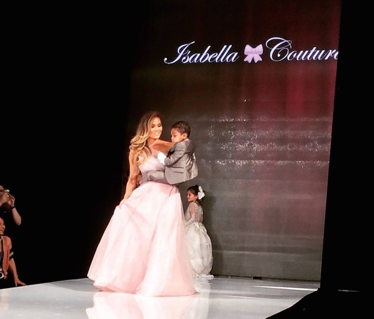 Isabella Couture Children's Designer Clothing Rocks L.A Fashion Week