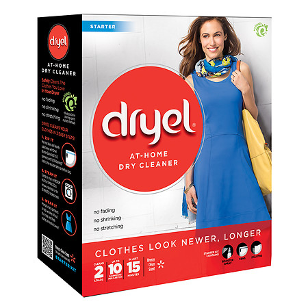 Dryel At-Home Dry Cleaner Starter Kit Editors Favorite