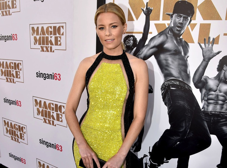 Elizabeth Banks, The Diamond Jewels, Magic Mike XXL Premiere