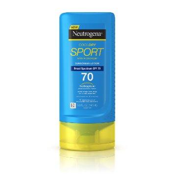Neutrogena Cool Dry sport Sunscreen Lotion News