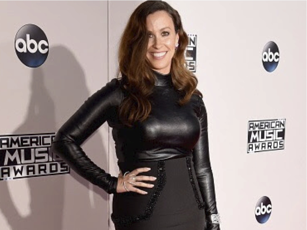 American Music Awards Alanis Morissette Jewel Style
