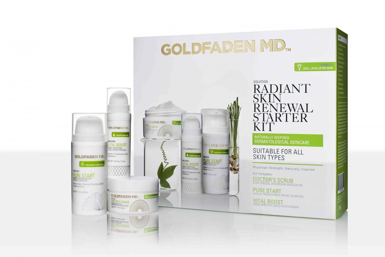 Good Skin News: Radiant Skin Renewal Started Kit Holiday Gift To Give
