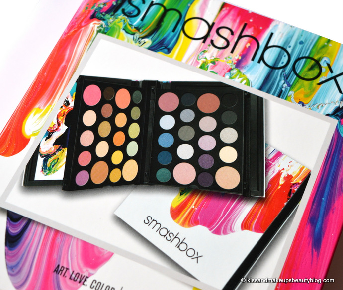 Holidays With Smashbox Art Love Color Master Class Palette Best Gift