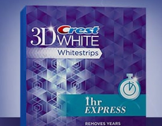3D Crest White Stripes Just Right For Your Teeth
