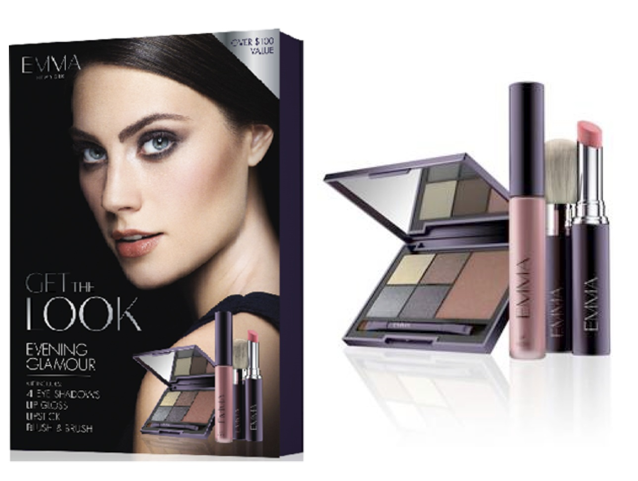 Glam Up Your Makeup With the New Evening Glamour Collection