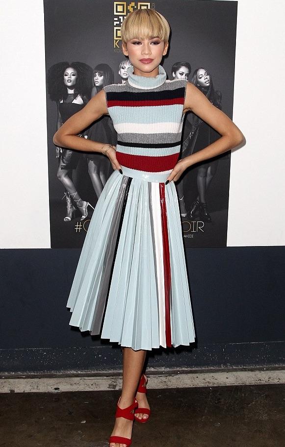 Zendaya Rocks Cristiano Burani Star Style Dress
