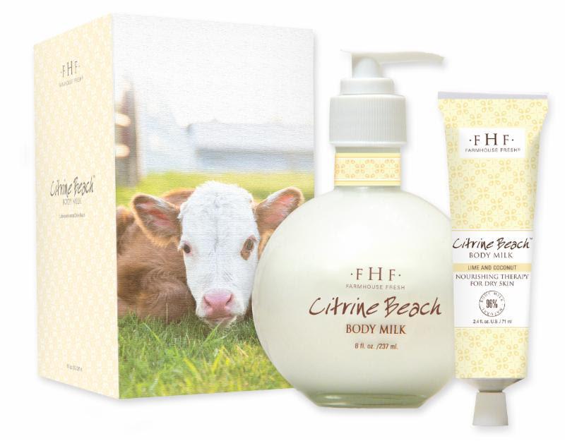 FarmHouse Fresh Debuts Citrine Beach Body Milk Lotion