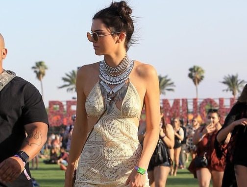 Kendall Jenner & Chanel Iman Styled In Dylanlex at Coachella