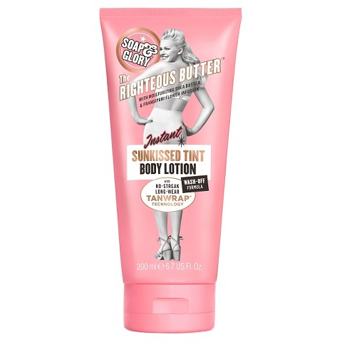 Soap & Glory The Righteous Butter Your Instant Sunkissed Tint Body Lotion