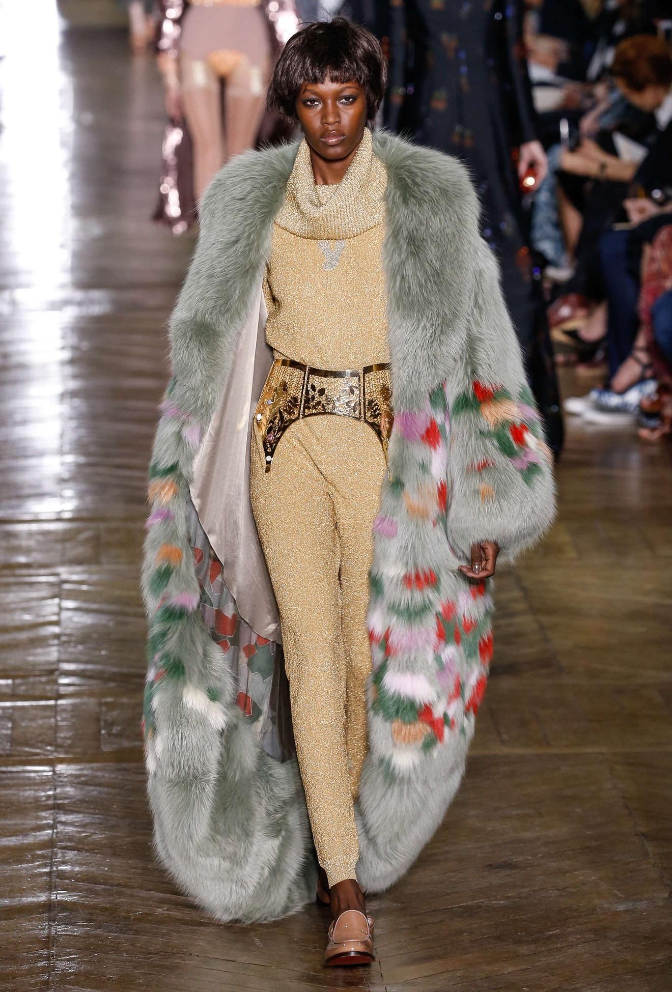 Ulyana Sergeenko Fall Winter 2016 Fashion Show